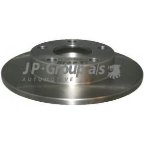 JP GROUP Bremsscheibe 1163203300 für AUDI A4 (8E2, B6) 1.9 TDI ab Baujahr 11.2000, 130 PS
