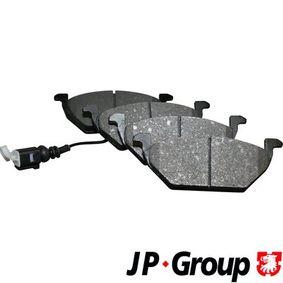 Bremsbelagsatz, Scheibenbremse Dicke/Stärke: 19,7mm mit OEM-Nummer 8Z0 698 151A