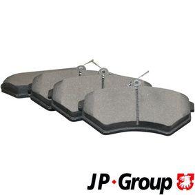Bremsbelagsatz, Scheibenbremse Dicke/Stärke: 16,2mm mit OEM-Nummer 1HM.698.151A