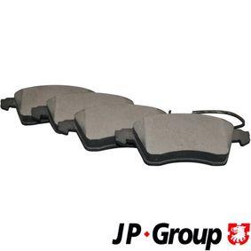 Bremsbelagsatz, Scheibenbremse Dicke/Stärke: 20,6mm mit OEM-Nummer 7D0 698 151F