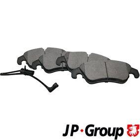 Bremsbelagsatz, Scheibenbremse Dicke/Stärke: 19,4mm mit OEM-Nummer 8K0 698 151 H