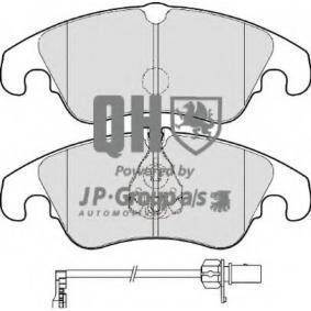 Bremsbelagsatz, Scheibenbremse Dicke/Stärke: 19,4mm mit OEM-Nummer 8R0 698 151A