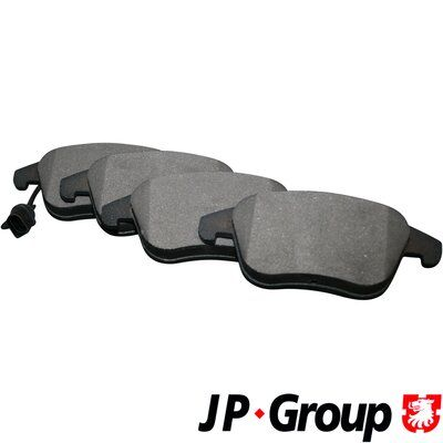 JP GROUP  1163607210 Bremsbelagsatz, Scheibenbremse Dicke/Stärke: 20mm