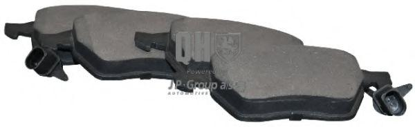 JP GROUP  1163608119 Bremsbelagsatz, Scheibenbremse Dicke/Stärke: 20,4mm