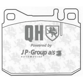 Bremsbelagsatz, Scheibenbremse Dicke/Stärke: 17,5mm mit OEM-Nummer 001 420 05 20.