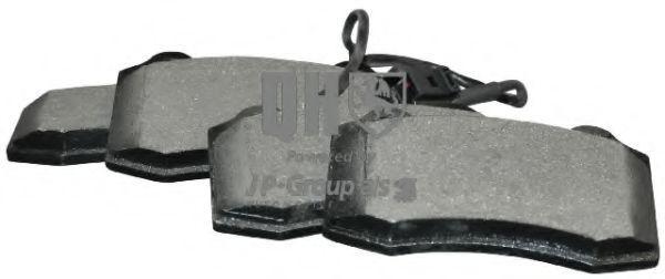 JP GROUP  1163609219 Bremsbelagsatz, Scheibenbremse Dicke/Stärke: 15mm