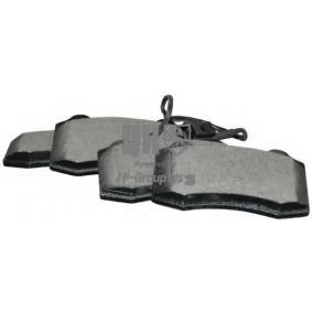 Bremsbelagsatz, Scheibenbremse Dicke/Stärke: 15mm mit OEM-Nummer 1ML 698 151