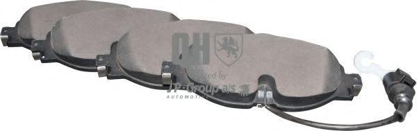 JP GROUP  1163609519 Bremsbelagsatz, Scheibenbremse Dicke/Stärke: 20,3mm