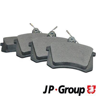 JP GROUP  1163705810 Bremsbelagsatz, Scheibenbremse Dicke/Stärke: 16,6mm