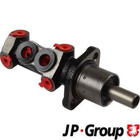 Motorhalter für VW TRANSPORTER IV Bus (70XB, 70XC, 7DB, 7DW) 2.5 TDI 102 PS ab Baujahr 09.1995 JP GROUP Bremsbelagsatz, Scheibenbremse (1163706010) für