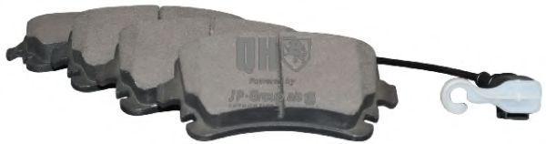 JP GROUP  1163706219 Bremsbelagsatz, Scheibenbremse Dicke/Stärke: 17,7mm