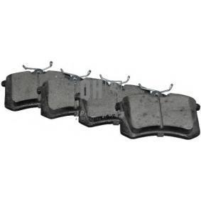 Bremsbeläge VW PASSAT Variant (3B6) 1.9 TDI 130 PS ab 11.2000 JP GROUP Bremsbelagsatz, Scheibenbremse (1163706319) für