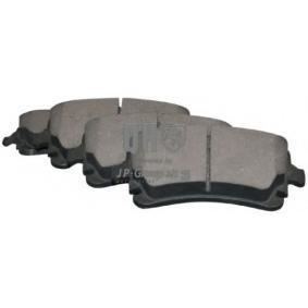Bremsbelagsatz, Scheibenbremse Dicke/Stärke: 17,7mm mit OEM-Nummer 4F0 698 451C