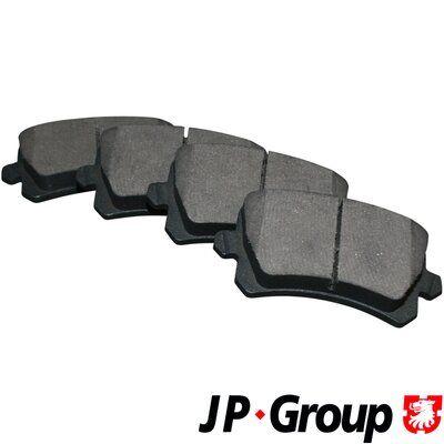 JP GROUP  1163706610 Bremsbelagsatz, Scheibenbremse Dicke/Stärke: 17,2mm