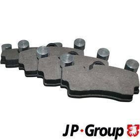 JP GROUP  1163706910 Bremsbelagsatz, Scheibenbremse Dicke/Stärke: 16,7mm