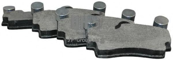 JP GROUP  1163706919 Bremsbelagsatz, Scheibenbremse Dicke/Stärke: 16,7mm