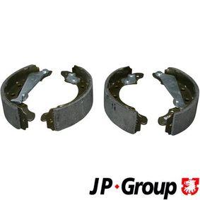 Bremsbackensatz Breite: 40mm mit OEM-Nummer 6Q0609526A