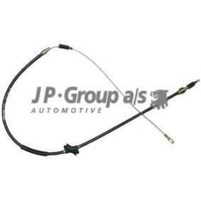 JP GROUP Seilzug, Feststellbremse 1170304000 für AUDI 100 (44, 44Q, C3) 1.8 ab Baujahr 02.1986, 88 PS