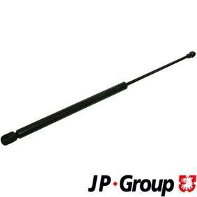 JP GROUP  1181204600 Heckklappendämpfer / Gasfeder Länge über Alles: 500mm, Hub: 205mm