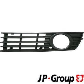 JP GROUP Lüftungsgitter, Stoßfänger 1184501470 für AUDI A4 Avant (8E5, B6) 3.0 quattro ab Baujahr 09.2001, 220 PS