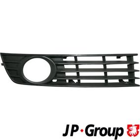 JP GROUP Lüftungsgitter, Stoßfänger 1184501480 für AUDI A4 (8E2, B6) 1.9 TDI ab Baujahr 11.2000, 130 PS