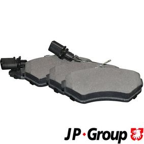 JP GROUP Lüftungsgitter, Stoßfänger 1184501500 für AUDI A4 (8E2, B6) 1.9 TDI ab Baujahr 11.2000, 130 PS