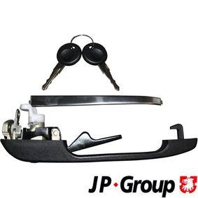 JP GROUP Türgriff 1187102270 für AUDI 80 (81, 85, B2) 1.8 GTE quattro (85Q) ab Baujahr 03.1985, 110 PS