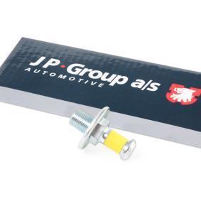 JP GROUP Türschloß 1187450200 für AUDI 100 (44, 44Q, C3) 1.8 ab Baujahr 02.1986, 88 PS
