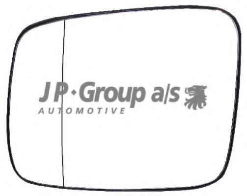 JP GROUP  1189303170 Κρύσταλλο καθρέφτη, εξωτ. καθρέφτης