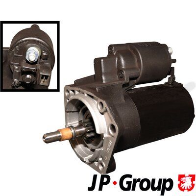 JP GROUP Käynnistinmoottori