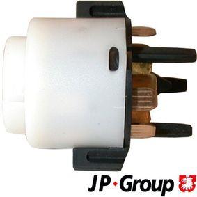 JP GROUP Zünd-/Startschalter 1190400800 für AUDI A4 (8E2, B6) 1.9 TDI ab Baujahr 11.2000, 130 PS