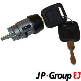 JP GROUP Schließzylinder, Zündschloß 1190401200 für AUDI 80 (81, 85, B2) 1.8 GTE quattro (85Q) ab Baujahr 03.1985, 110 PS