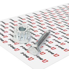 JP GROUP Spannschraube, Generatorhalter 1191000200 für AUDI 80 (81, 85, B2) 1.8 GTE quattro (85Q) ab Baujahr 03.1985, 110 PS