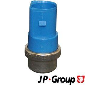 JP GROUP Temperaturschalter, Kühlerlüfter 1194001800 für AUDI A6 (4B2, C5) 2.4 ab Baujahr 07.1998, 136 PS