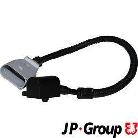 Sensor, posición arbol de levas Número de conexiones: 3, Long. cable: 320mm con OEM número 045957147D