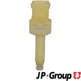JP GROUP Bremslichtschalter 1196600700 für AUDI 80 Avant (8C, B4) 2.0 E 16V ab Baujahr 02.1993, 140 PS