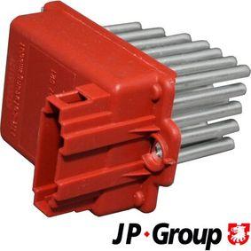 JP GROUP  1196850500 Widerstand, Innenraumgebläse Pol-Anzahl: 3-polig