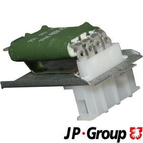 JP GROUP  1196850800 Widerstand, Innenraumgebläse Spannung: 12V, Widerstand: 0,26Ohm