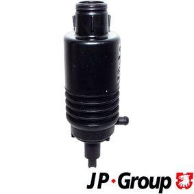 JP GROUP  1198500800 Waschwasserpumpe, Scheibenreinigung Spannung: 12V