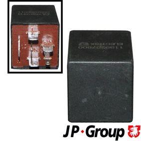 JP GROUP Relais, Wisch-Wasch-Intervall 1199207800 für AUDI 80 (8C, B4) 2.8 quattro ab Baujahr 09.1991, 174 PS