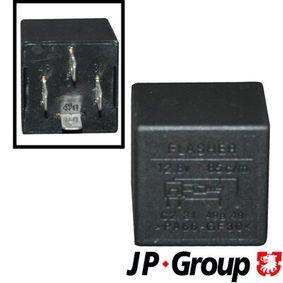 JP GROUP Warnblinkrelais 1199208400 für AUDI 90 (89, 89Q, 8A, B3) 2.2 E quattro ab Baujahr 04.1987, 136 PS
