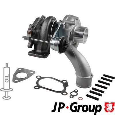 JP GROUP Lader, ladesystem 1217400100