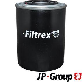 JP GROUP  1218505300 Ölfilter Ø: 108mm, Innendurchmesser 2: 63mm, Innendurchmesser 2: 72mm, Höhe: 145mm