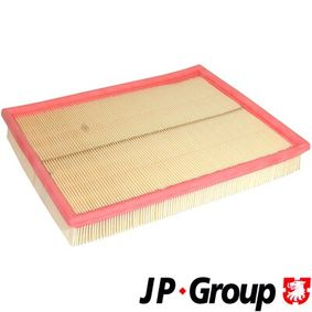 Air Filter Length: 294mm, Width: 234mm, Height: 42mm, Length: 294mm with OEM Number 5 834 282