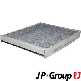 Filter, Innenraumluft Länge: 272mm, Breite: 234mm, Höhe: 32mm mit OEM-Nummer 9118699