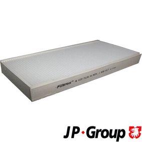 Filter, Innenraumluft Länge: 331mm, Breite: 164mm, Höhe: 30mm mit OEM-Nummer 93172299