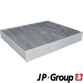 Filter, Innenraumluft Länge: 240mm, Breite: 204mm, Höhe: 36mm mit OEM-Nummer 13271190