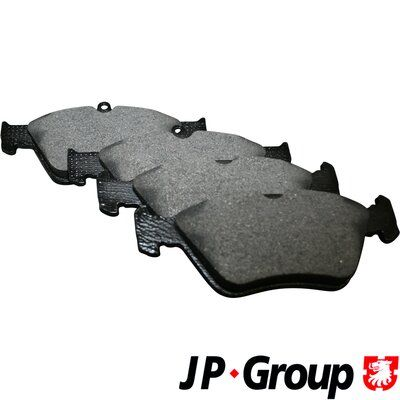 JP GROUP  1263600710 Bremsbelagsatz, Scheibenbremse Dicke/Stärke 1: 17,5mm, Dicke/Stärke 2: 18,3mm