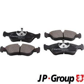 Bremsbelagsatz, Scheibenbremse Dicke/Stärke: 17,6mm mit OEM-Nummer 1 605 808