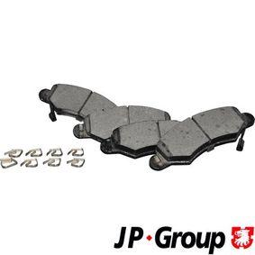 Bremsbelagsatz, Scheibenbremse Dicke/Stärke: 15,5mm mit OEM-Nummer 47 04 578